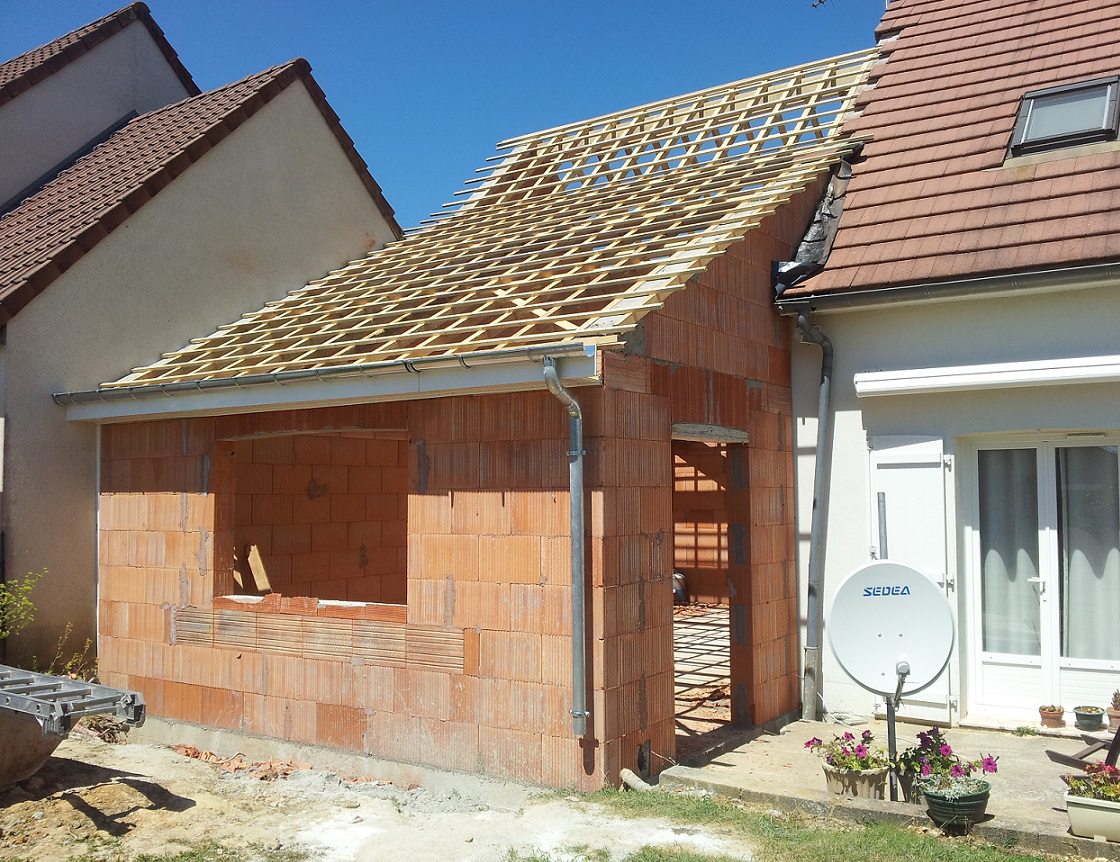 Construction r novation et extension de maison pr s de blois 41 - Photo extension maison ...